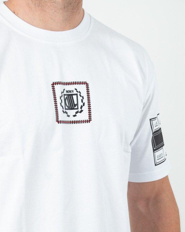 Koszulka Diil Tabbed White
