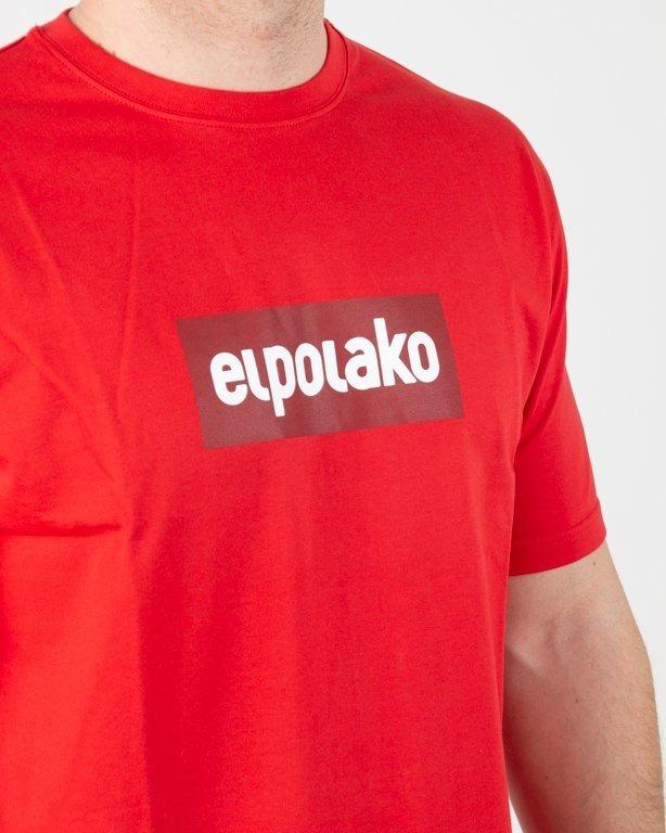 Koszulka El Polako Logobox Red