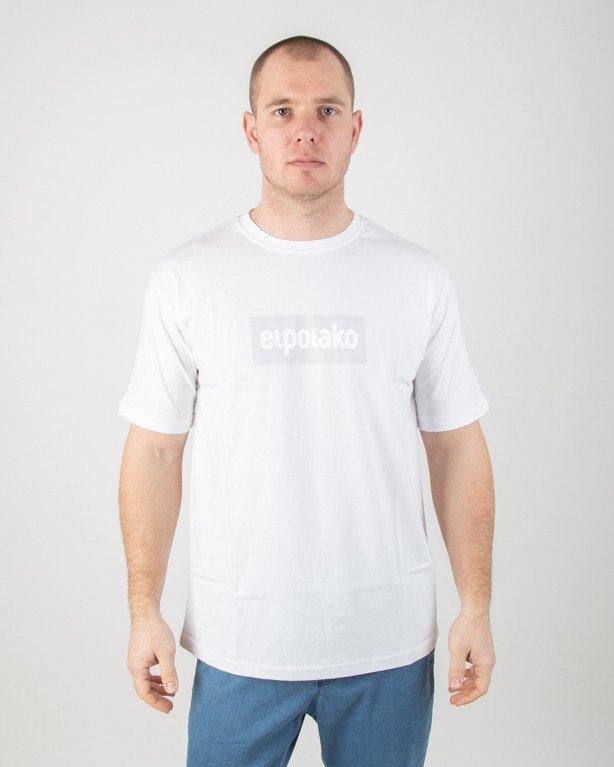 Koszulka El Polako Logobox White