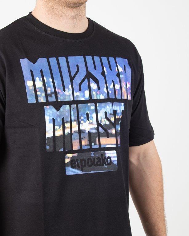 Koszulka El Polako Muzyka Miast Black