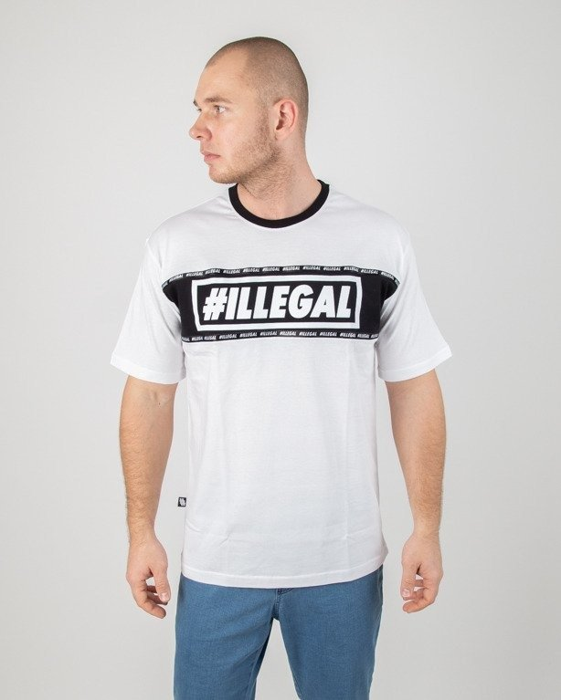 Koszulka Illegal Belt White