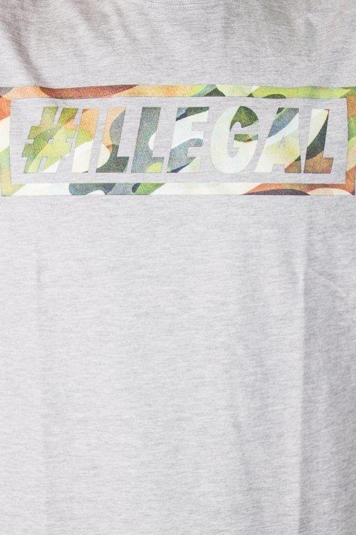 Koszulka Illegal Klasyk Camo Grey