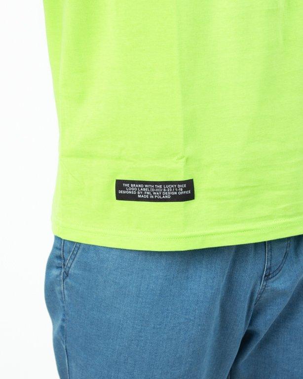 Koszulka Lucky Dice Tape Neon