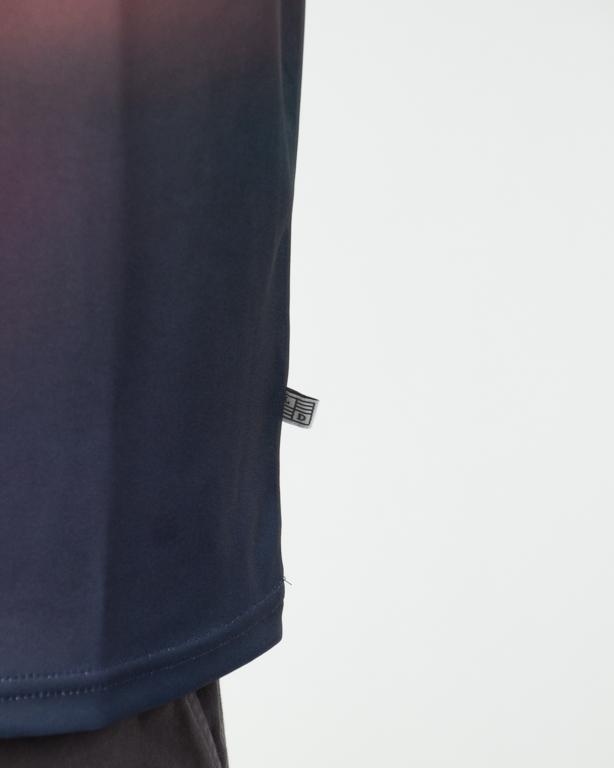 Koszulka Lucky Dice Tape Sb Defocused Blue-Orange