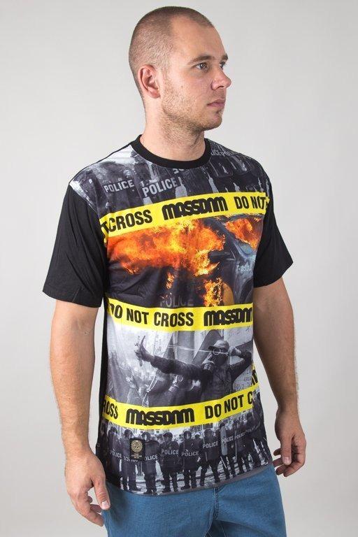 Koszulka Mass Do Not Cross Black