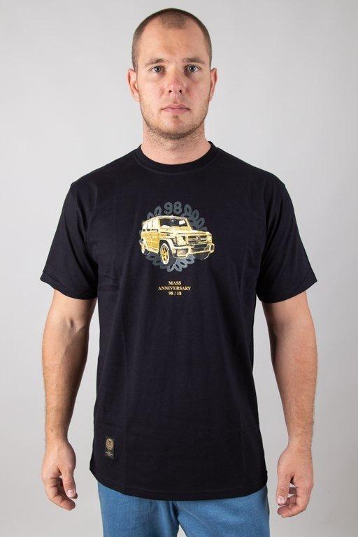 Koszulka Mass Golden Car Black