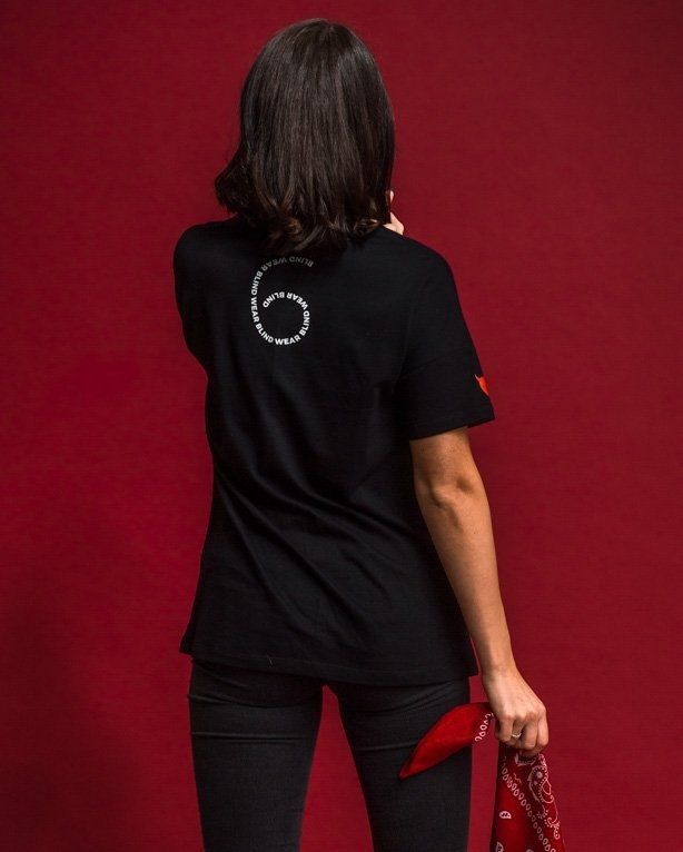 Koszulka Nbl X Blind Wear Woman Call Me Black