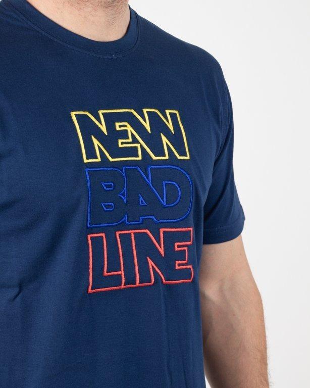 Koszulka New Bad Line Outline Navy