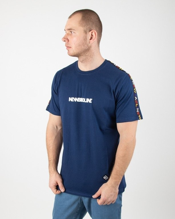 Koszulka New Bad Line Tape Navy