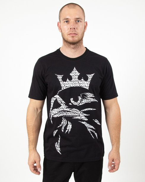 Koszulka Patriotic Eagle Fonts Black
