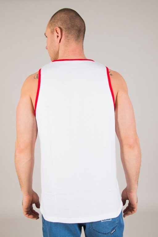 Koszulka Patriotic Tank Top Ff Box White