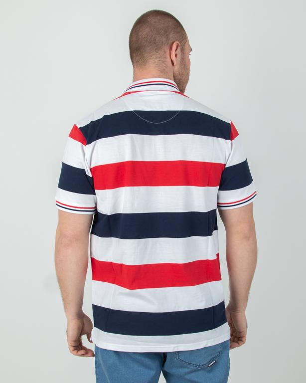 Koszulka Polo Prosto Rica White