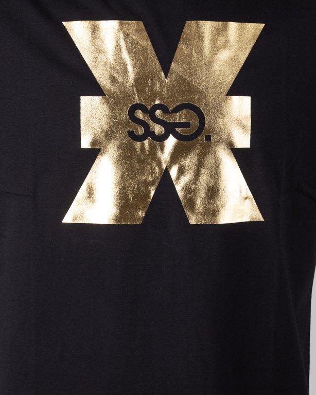 Koszulka SSG X SSG Gold Ltd Black + Opaska