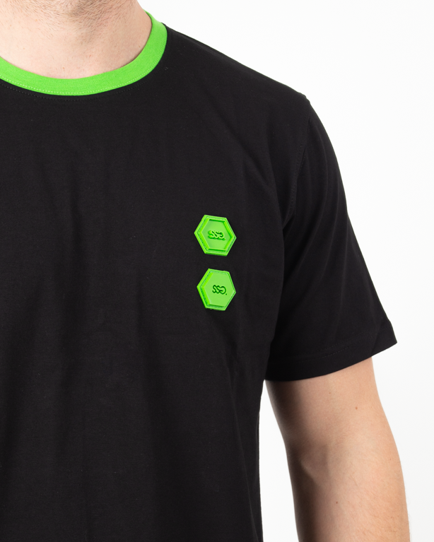 Koszulka Ssg Rubber 3D Black
