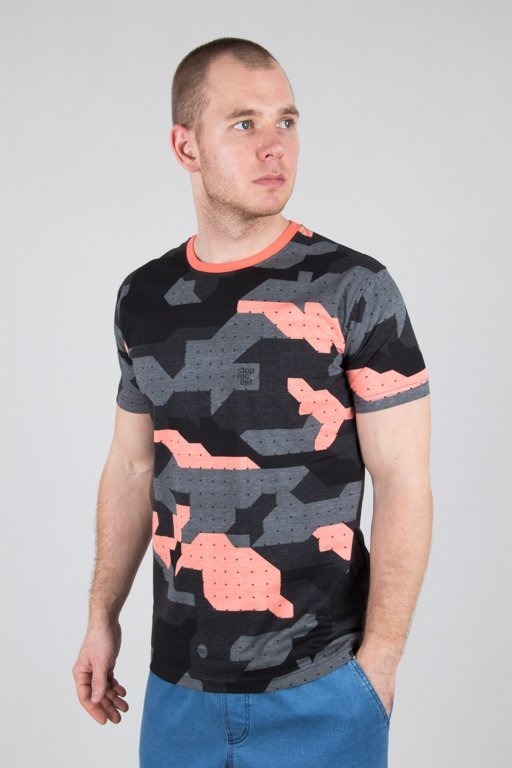 Koszulka Stoprocent Camu Coral