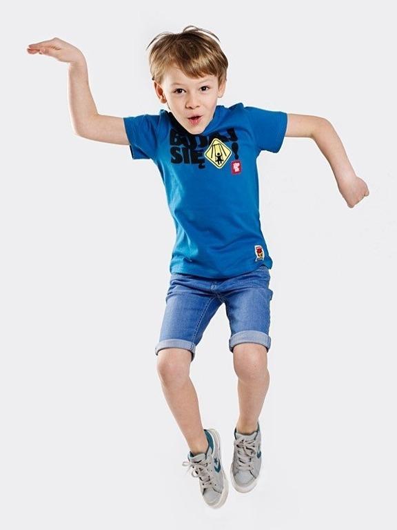 Koszulka Stoprocent Kid Bujaj Navy Blue