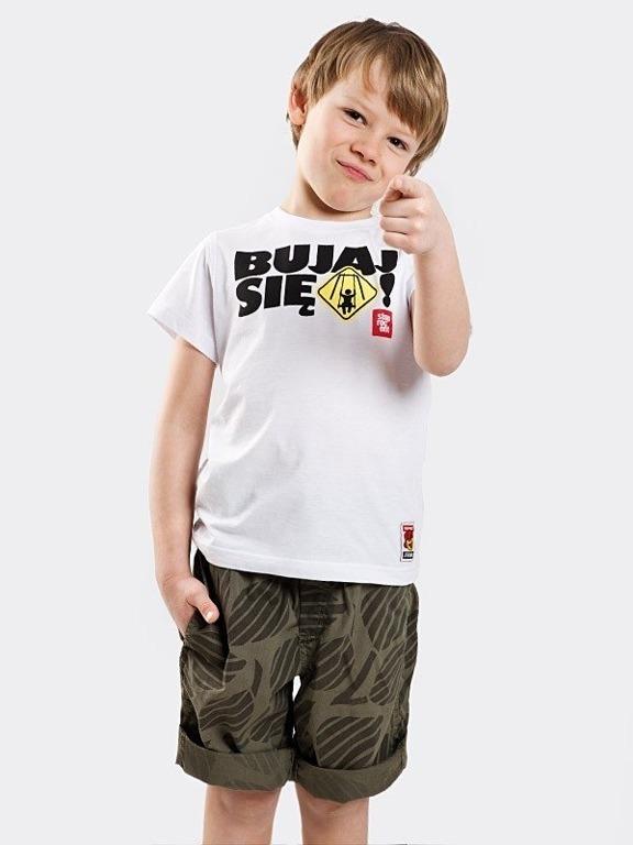 Koszulka Stoprocent Kid Bujaj White