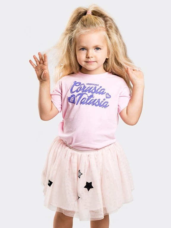 Koszulka Stoprocent Kid Córusia Peach