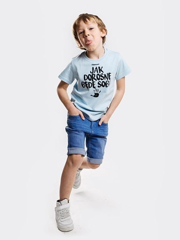 Koszulka Stoprocent Kid Jak Dorosnę Blue