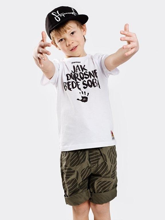 Koszulka Stoprocent Kid Jak Dorosnę White