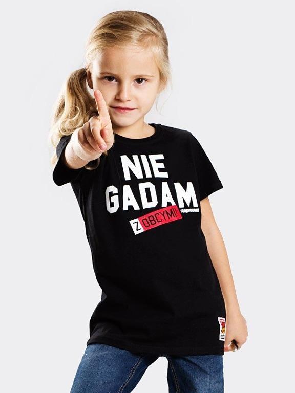 Koszulka Stoprocent Kid Nie Gadam Black