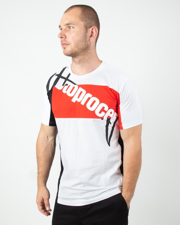 Koszulka Stoprocent Mixtag White-Black