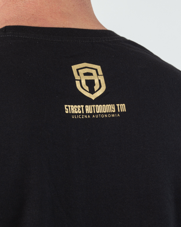 Koszulka Street Autonomy Big Gold Black