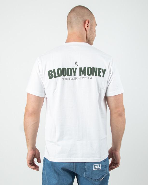Koszulka Street Autonomy Bloody Money White