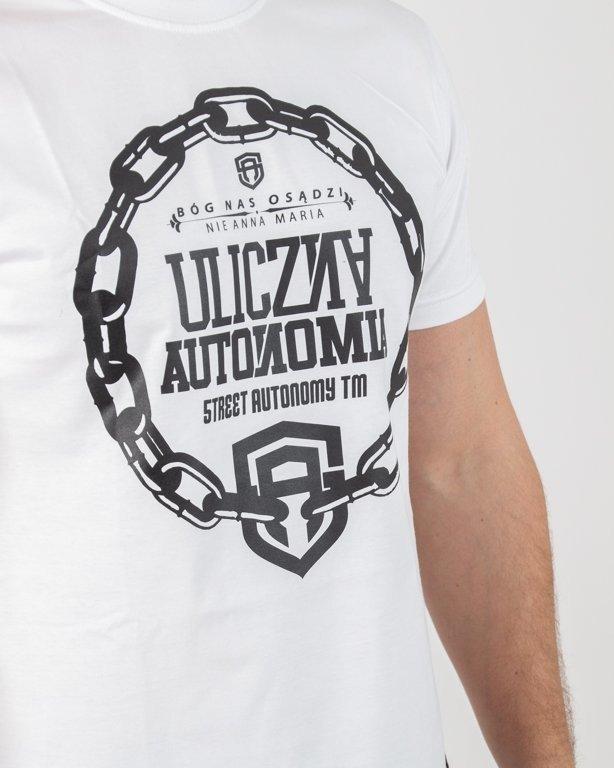 Koszulka Street Autonomy Chain White