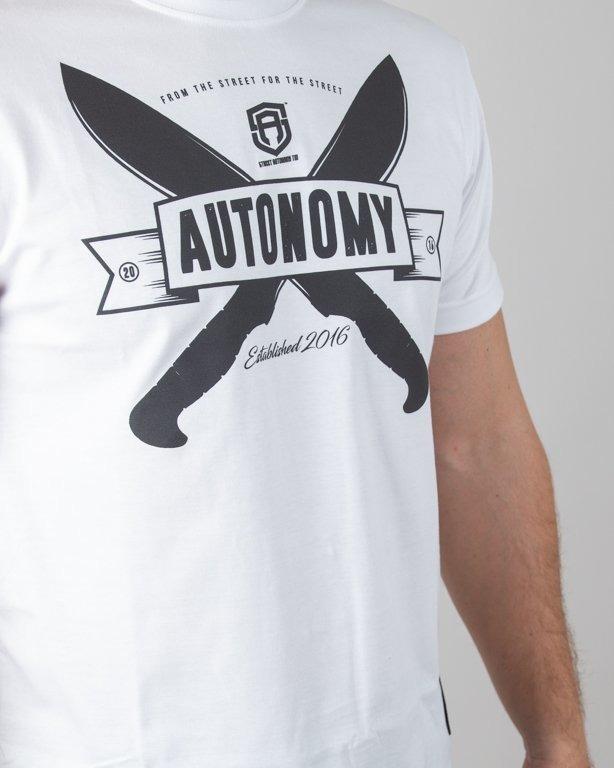 Koszulka Street Autonomy Tanto 2018 White