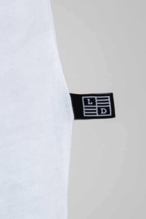 LUCKY DICE -SHIRT LOGO WHITE