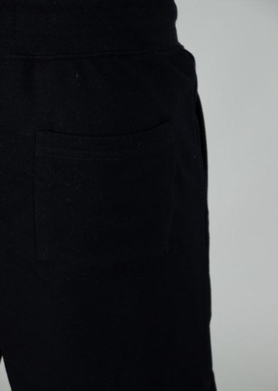 LUCKY DICE SWEATSHORTS LOGO COLOUR BLACK