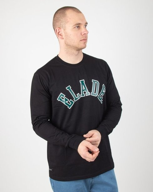 Longsleeve Elade College Black-Green