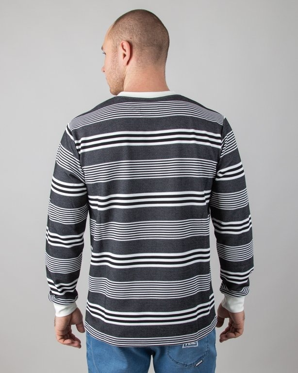 Longsleeve Koka Decimal Black-White