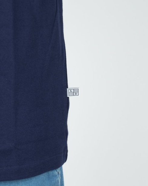 Longsleeve Lucky Dice College Navy- Red