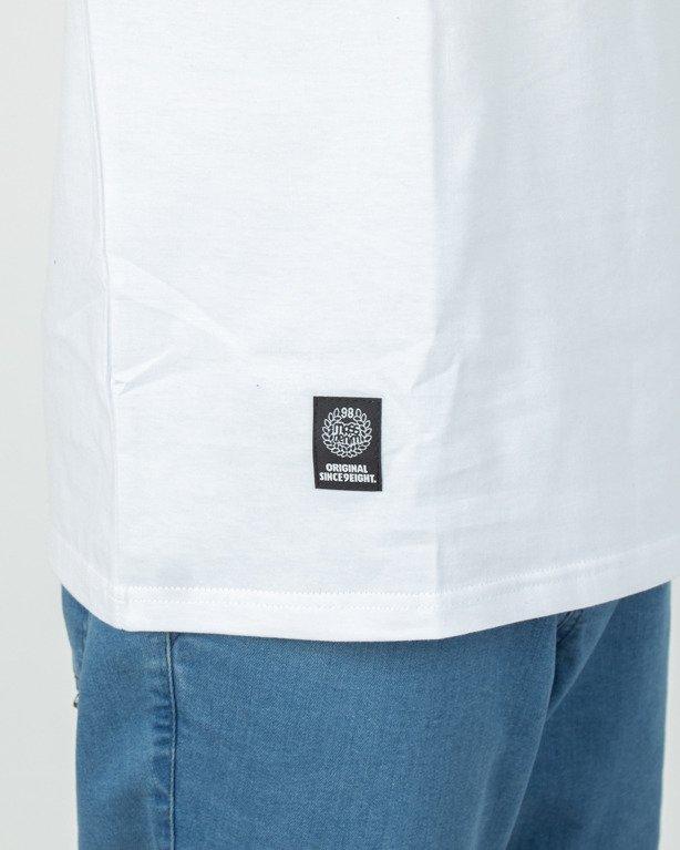 Longsleeve Mass Classics Small Logo White-Navy