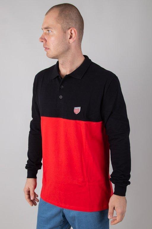 Longsleeve Prosto Polo Hafla Red