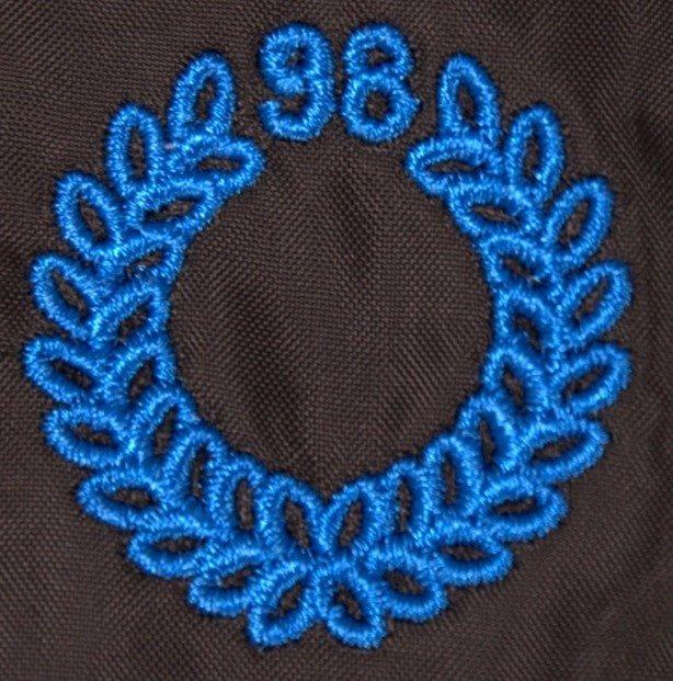 MASS KURTKA WIATRÓWKA ZIP CAMARO BLACK-BLUE