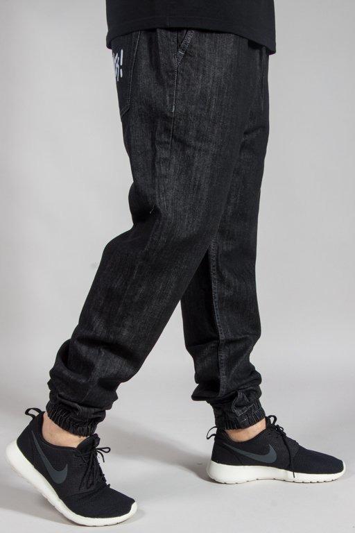 MASS PANTS JEANS JOGGER SIGNATURE BLACK