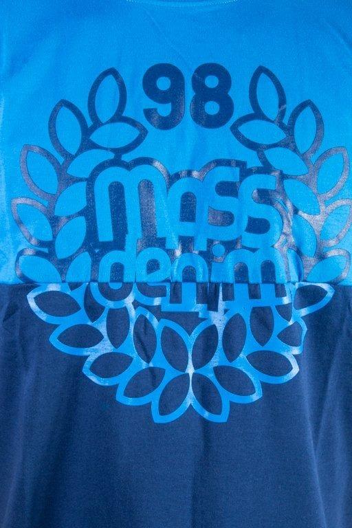 MASS T-SHIRT BASE CUT BLUE
