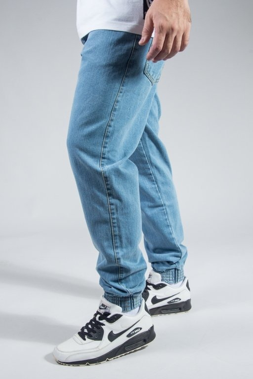 MORO SPORT PANTS JEANS JOGGER BIG PARIS LIGHT