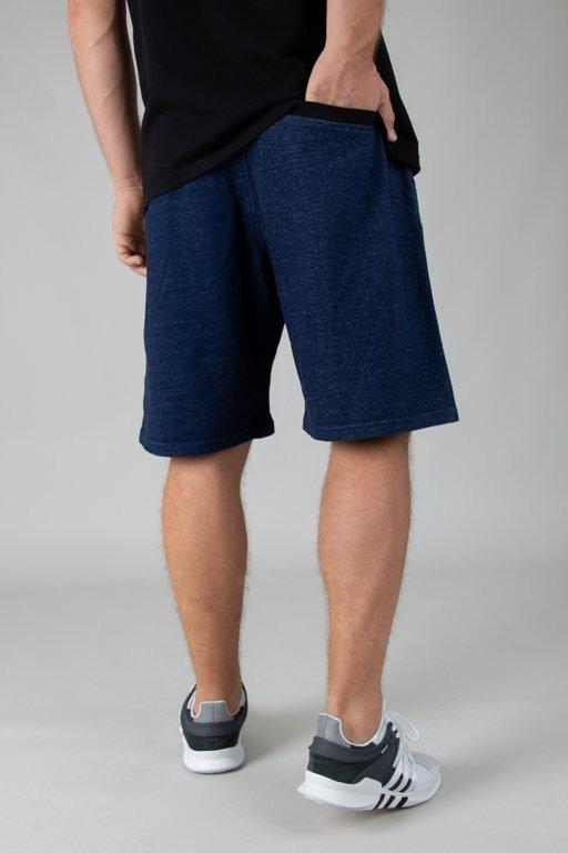 Moro Krótkie Spodenki Dresowe Mini Paris18 Jeans Dark