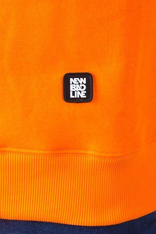 NEW BAD LINE CREWNECK ROMB ORANGE