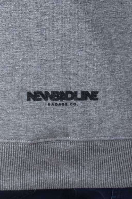 NEW BAD LINE HOODIE DRAW MELANGE
