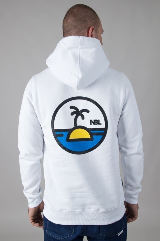 NEW BAD LINE HOODIE PALM WHITE