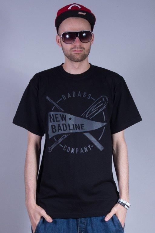 NEW BAD LINE KOSZULKA BASEBALL BLACK-BLACK