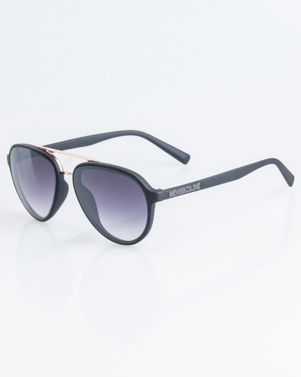 NEW BAD LINE OKULARY AVIATOR RUBBER 1252