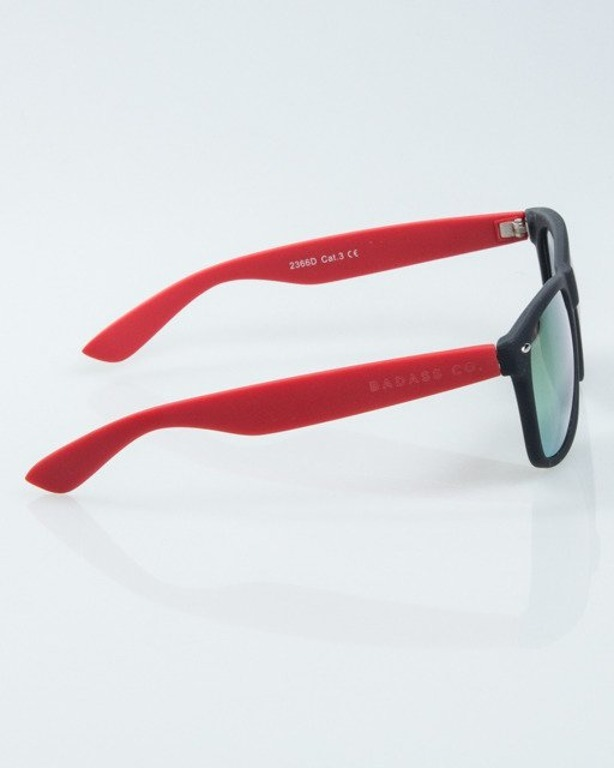 NEW BAD LINE OKULARY CLASSIC HALF RUBBER 1012