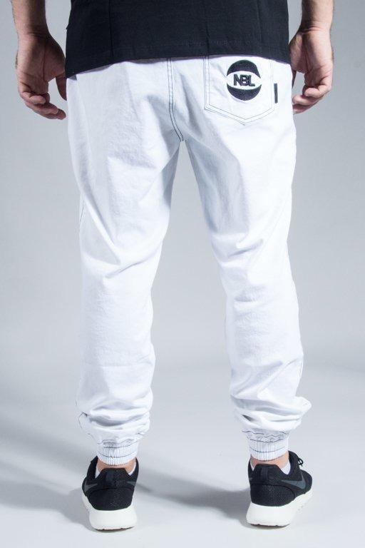 NEW BAD LINE PANTS CHINO JOGGER BASKET WHITE