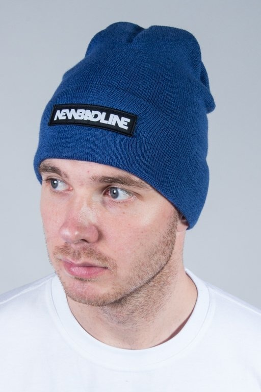 NEW BAD LINE WINTER CAP LOGO BLUE
